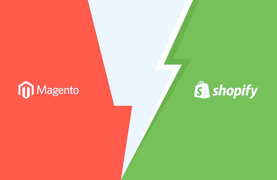 Magento e-poe Shopify platvormile kolimine
